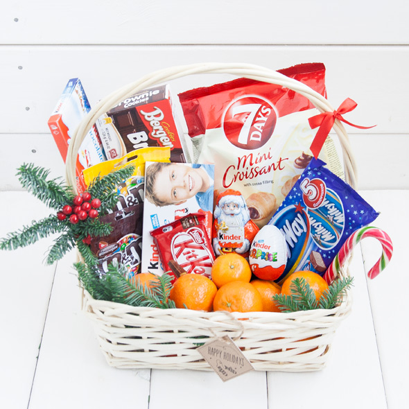 Sweets Christmas Basket