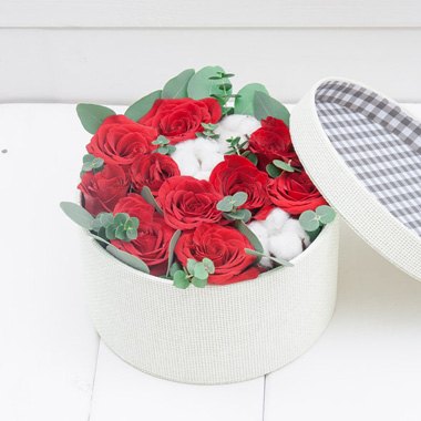 Flower Box Red