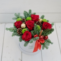 Flower Box Holiday Splendor